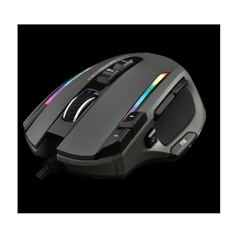 G-LAB - Gouris gaming Nitro Core 10 000 DPI RGB- Gris